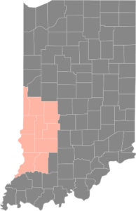 CWL Indiana Coverage map coral