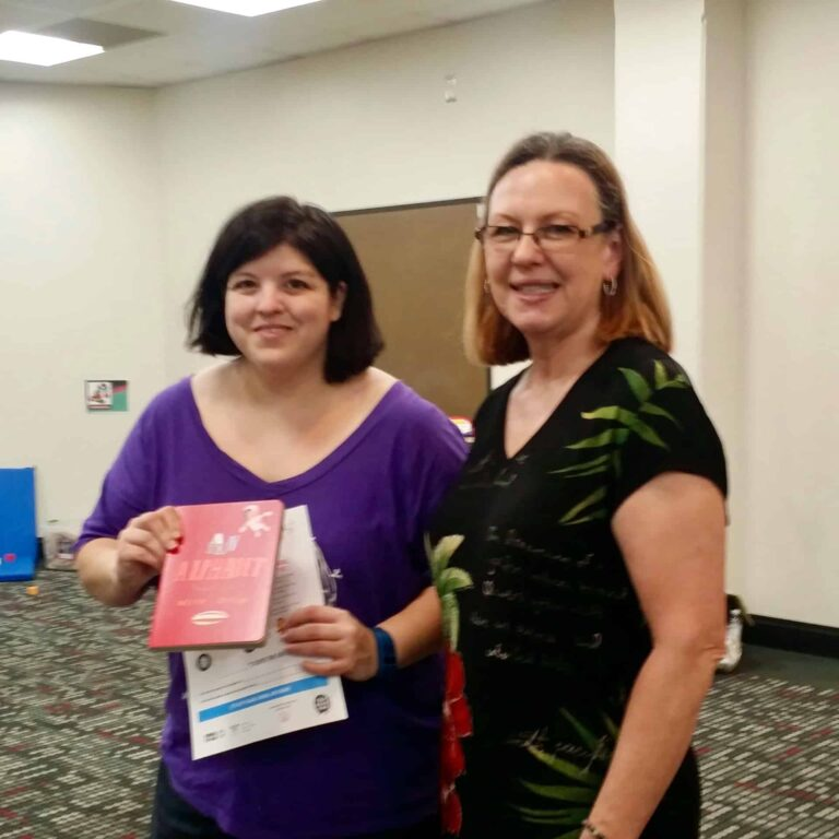 book presented to mother at the library